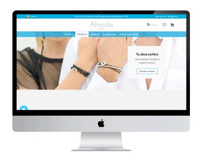 proyecto marketing online web alteide