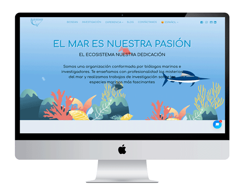 proyecto marketing online web Biosean